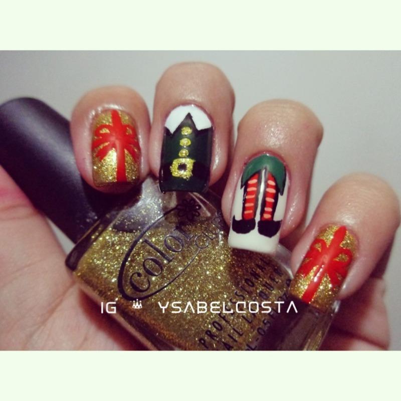 Elf nail art by Katrina Ysabel Costa