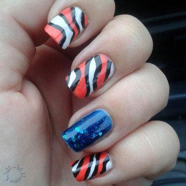 Findig Nemo nail art by Barbara P.