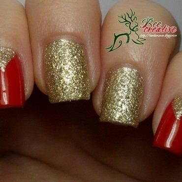 Christmas nail art by Isabella