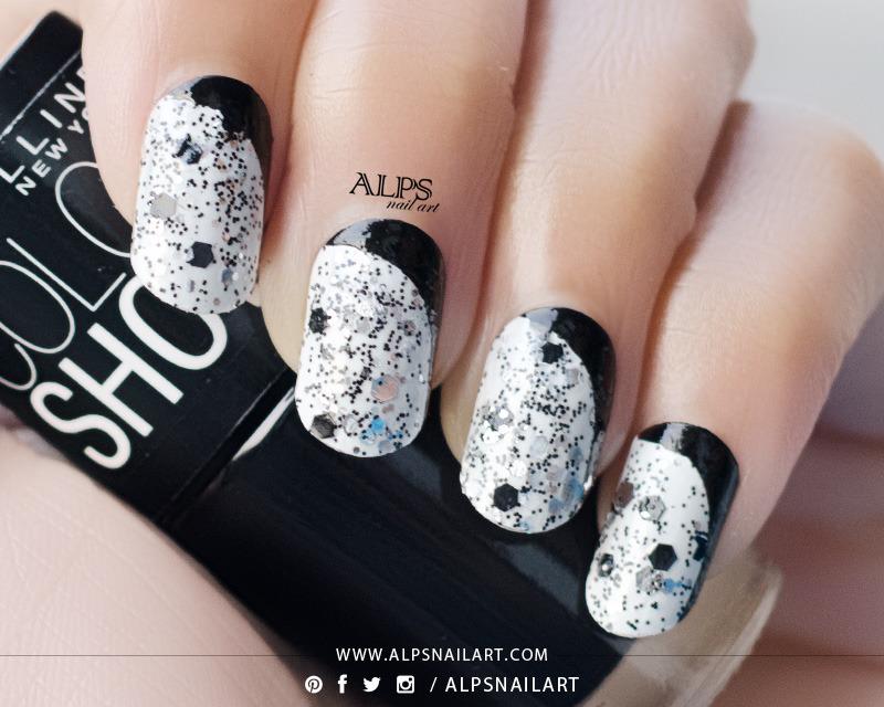 Ruffian Nails by Alpsnailart nail art by Alpsnailart