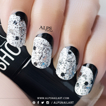 Ruffian Nails by Alpsnailart nail art by Alpsnailart