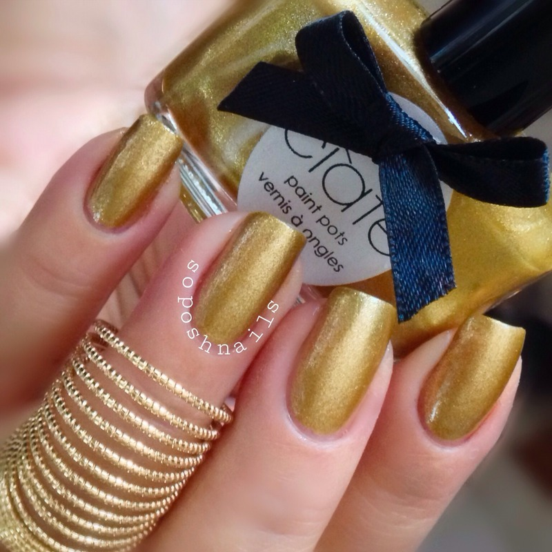Ciate Ladylike Luxe Swatch by Debbie - Nailpolis: Museum of Nail Art