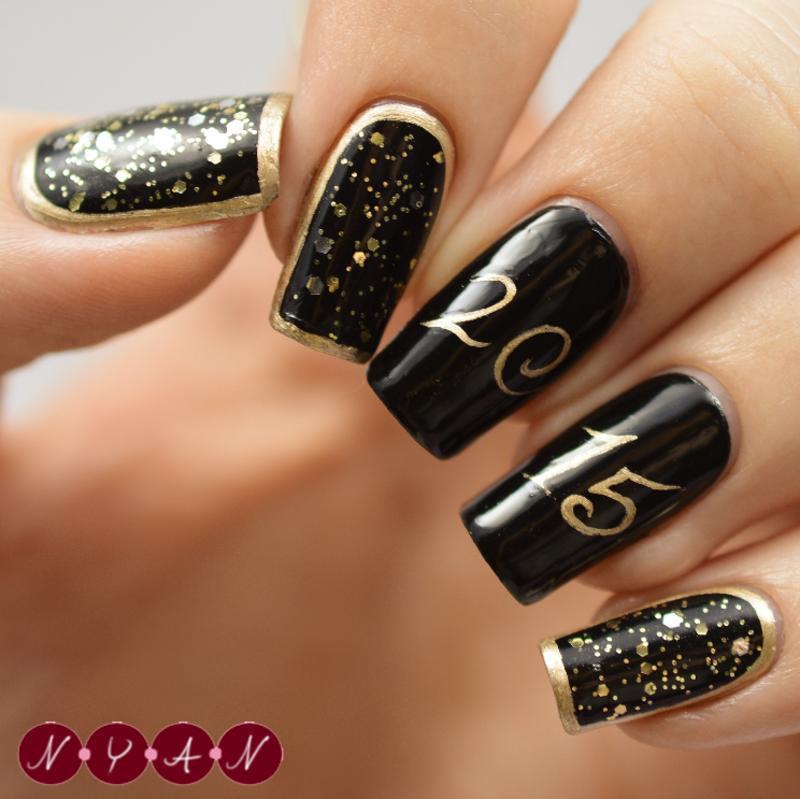 2015 nail art by Becca (nyanails)