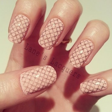 Ciate strawberry milkshake knitted nail art thumb370f