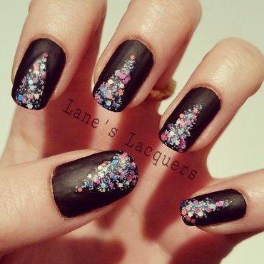 Picture polish color storm matte tape nail art thumb370f