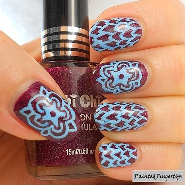 Pattern nail art thumb370f