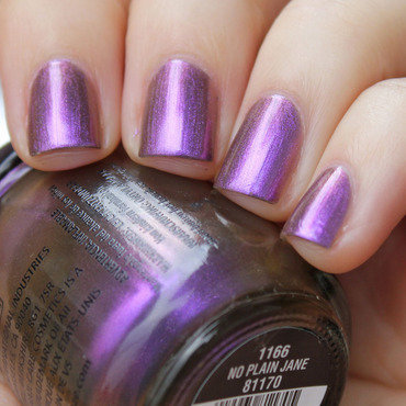 China Glaze No plain jane Swatch by Moriesnailart