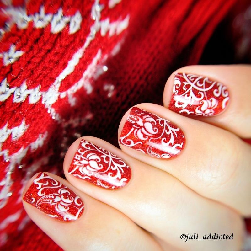 #52 nail art by Juli
