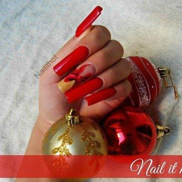 Christmas nails nail art by Nail_it_hot