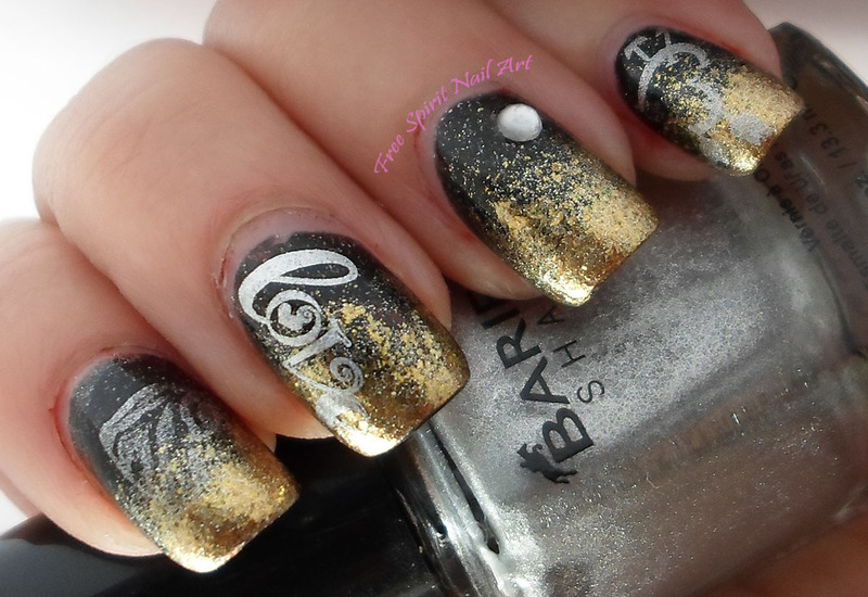 Love Mani nail art by Free_Spirit_Nail_Art