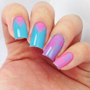 Mix n Match Mani nail art by Eterna Santos