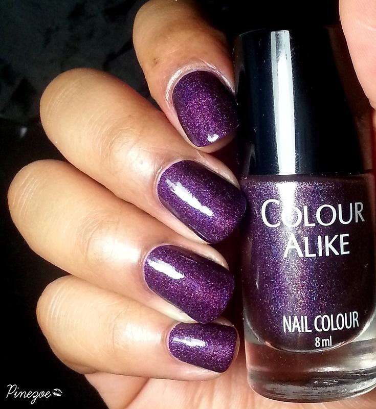 Colour Alike 502 Swatch by Pinezoe