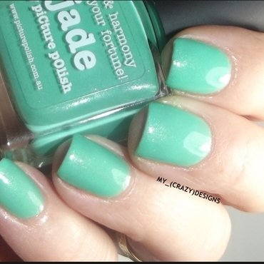 piCture pOlish Jade Swatch by Mycrazydesigns