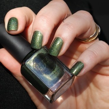 Il était un vernis we want you for NPA army Swatch by Pmabelle