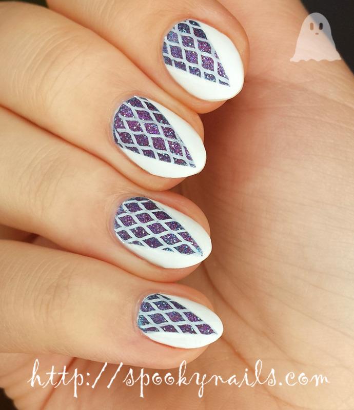 Pimped no name nail art ;) nail art by sabbatha