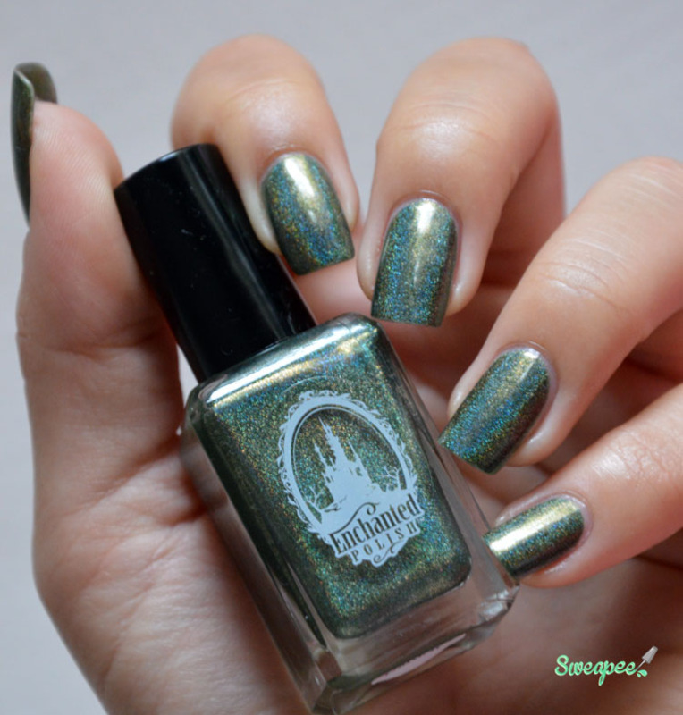 Enchanted Polish All love Garden Swatch by Sweapee