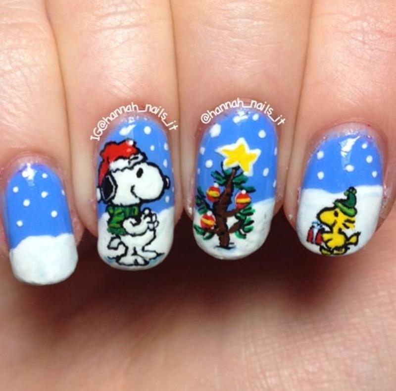 Snoopy and woodstock nail art by hannah nailpolis museum of snoopy and woodstock nail art by hannah prinsesfo Gallery