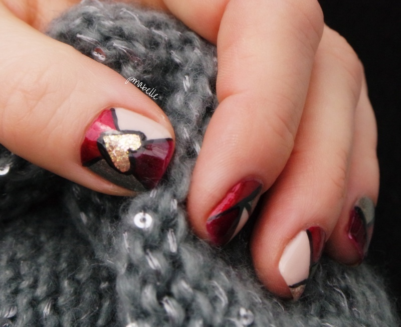 Stained Nails Nail Art By Pmabelle Nailpolis Museum Of