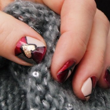 stained nails nail art by Pmabelle