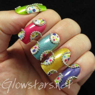 Jazzies nail art by Vic 'Glowstars' Pires