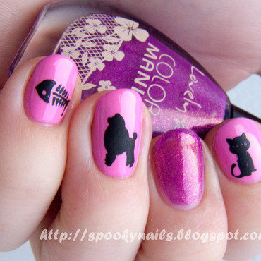 I want to be a Paris Hilton nail art by sabbatha