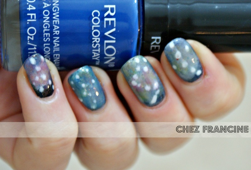 Have you ever felt your Cosmo? nail art by Francine