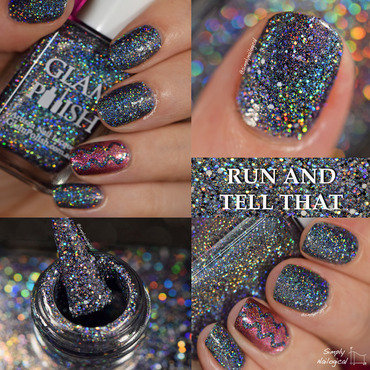 Glam Polish Run and Tell That Swatch by simplynailogical