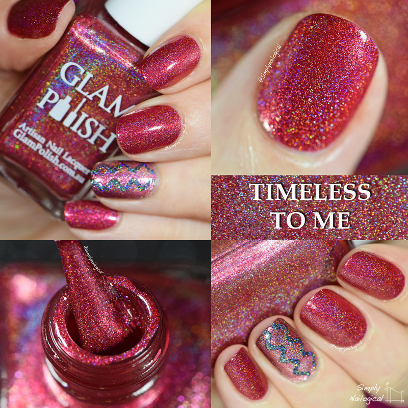 Glam Polish Timeless to Me Swatch by simplynailogical