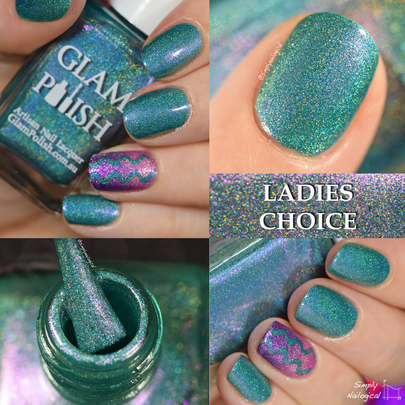 Glam Polish Ladies Choice Swatch by simplynailogical