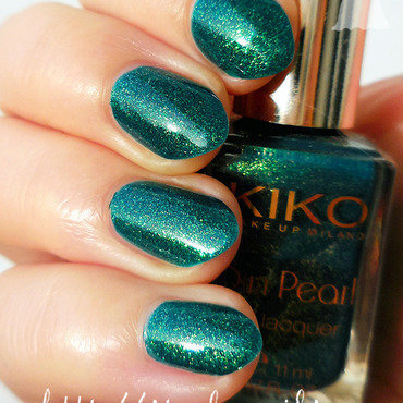 Kiko 428 River Green Swatch by sabbatha