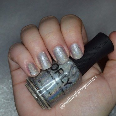 Orly Mirrorball Swatch by Lindsay