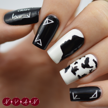 Crazy (Guilty Pleasure) nail art by Becca (nyanails)