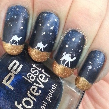 Three Kings Nails (Epiphany) nail art by iriefly