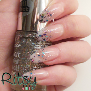 Party Nails nail art by Ritsy NL