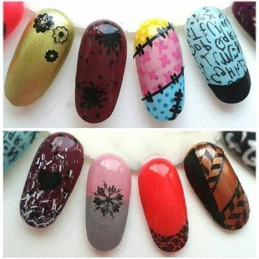 Designs nail art by Neve212