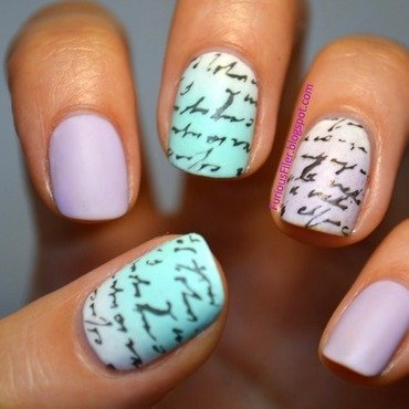Scribbles scribbles nail art by Furious Filer