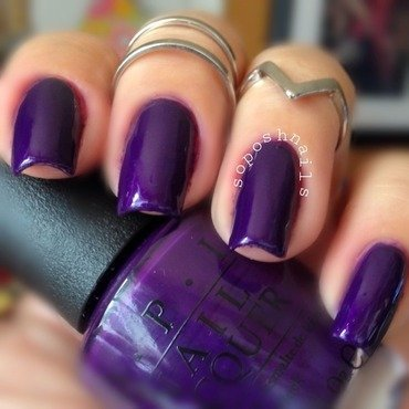 OPI I Carol About You Swatch by Debbie