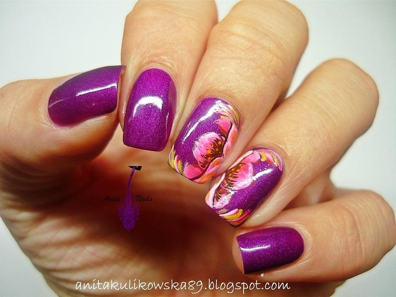 Zhostovo Nail Art Nail Art By Anita Nailpolis Museum Of Nail Art