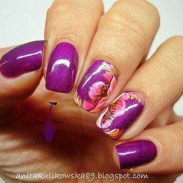 Zhostovo Nail Art nail art by Anita