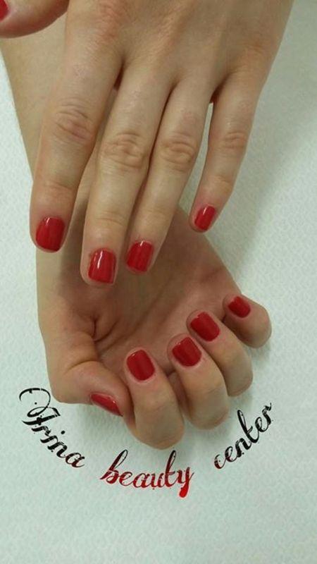 redd nail art by Irina