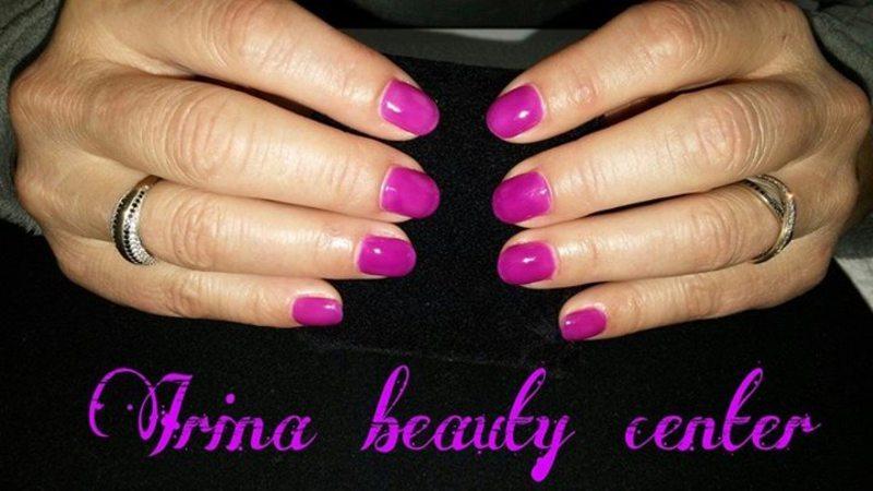 Elee Trie Purple nail art by Irina