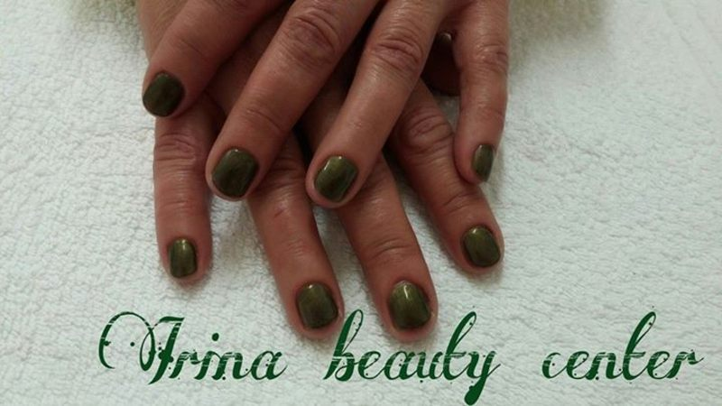 green monster nail art by Irina