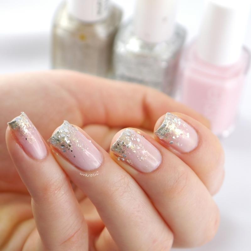 Vanity Fairest Glitter Gradient nail art by Ann-Kristin