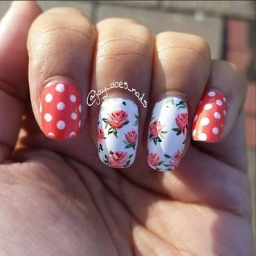 I'm over Winter nail art by Jaya Kerai