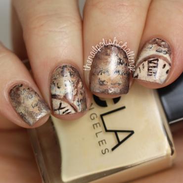 The nail polish challenge old book art thumb370f