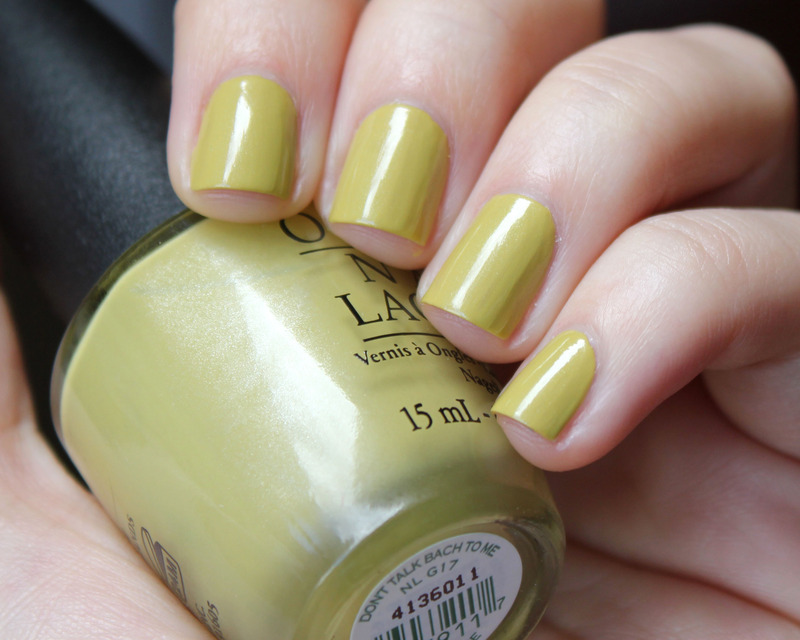 OPI Don't Talk Bach To Me Swatch by Moriesnailart