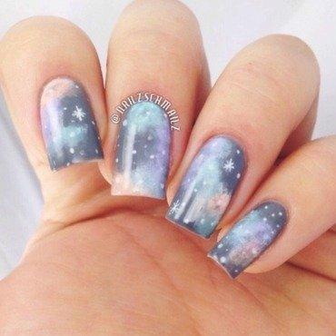 Pastel Galaxy  nail art by Eterna Santos
