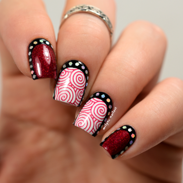 Nail 20art 20ruffian 20paillet c3 a9e 20et 20stamping 20mighty 20red 20baron 20by 20cbl 205 thumb370f