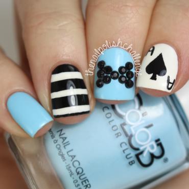 The nail polish challenge alice in wonderland art thumb370f