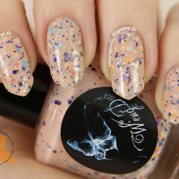 WingDust Collections Peaches Be Trippin' Swatch by Robin